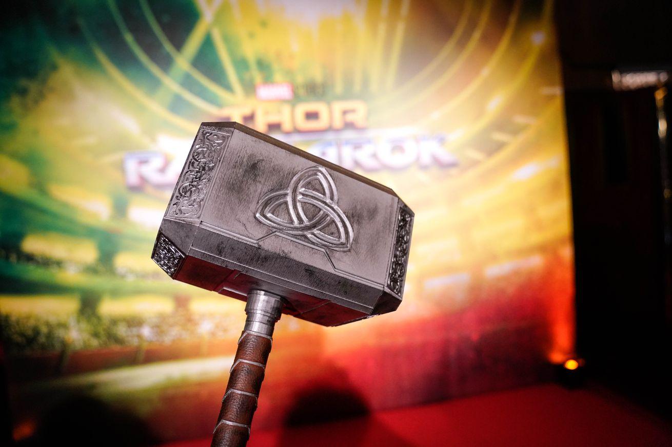 Thor Ragnarok : Paris Premiere At Le Grand Rex