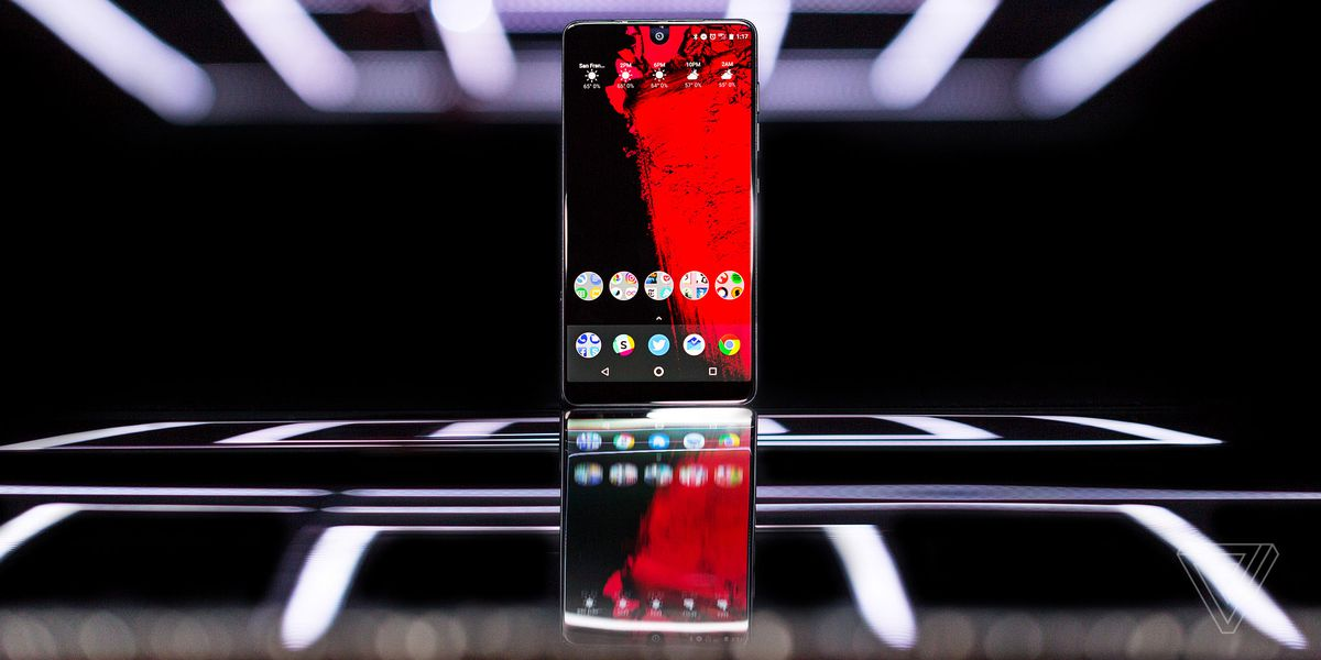 Essential Phone review - The Verge