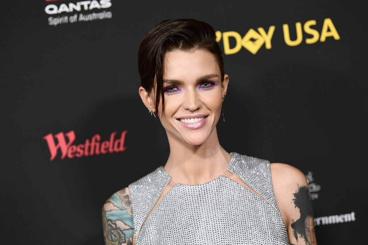 Ruby Rose arrives at 2018 G'Day USA Los Angeles Black Tie Gala