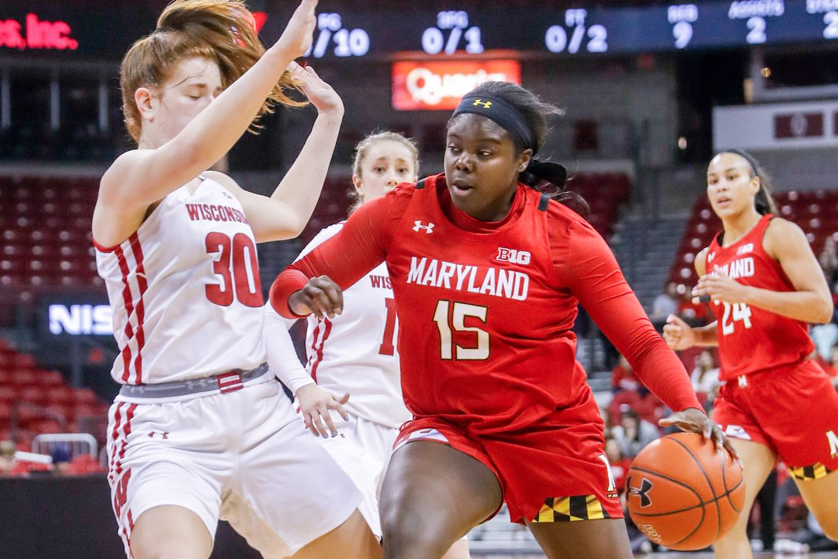 COLLEGE BASKETBALL: FEB 19 Women's Maryland at Wisconsin