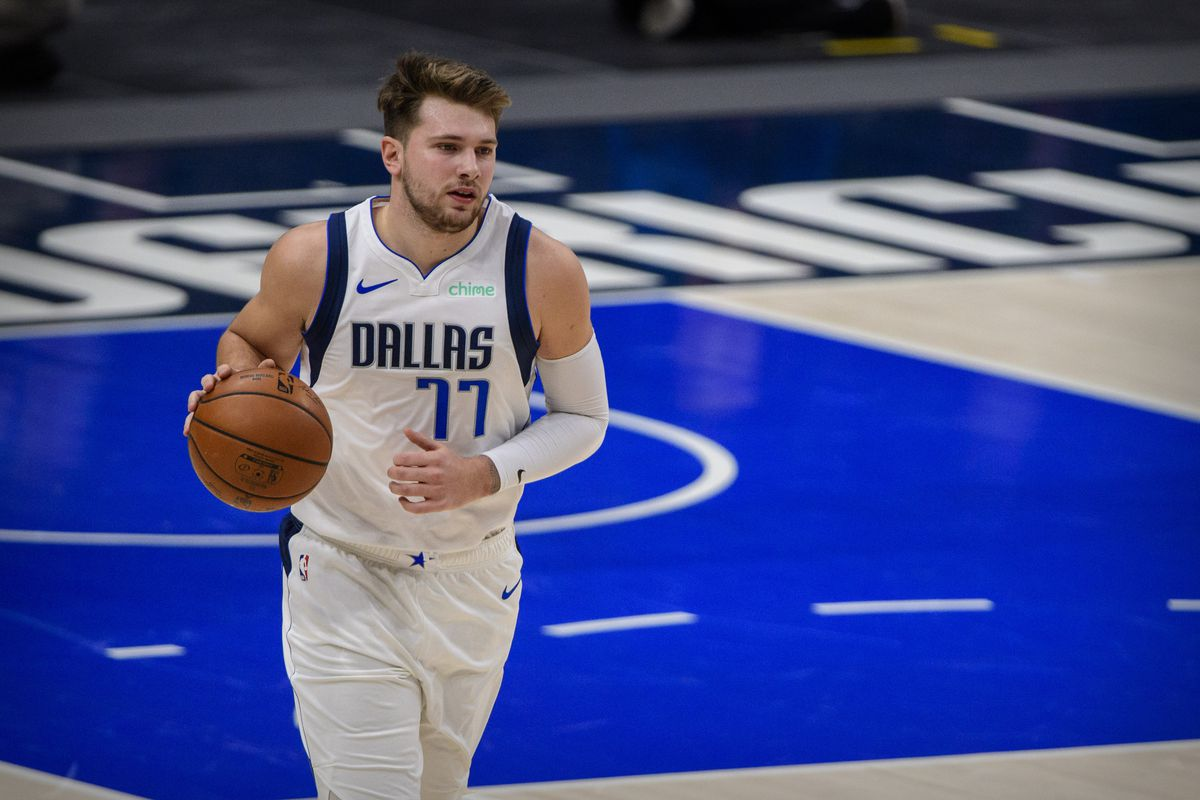 Dallas Mavericks guard Luka Doncic in action during the game between the Dallas Mavericks and the Minnesota Timberwolves at the American Airlines Center.