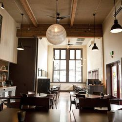 """<a href=""""http://seattle.eater.com/archives/2012/02/21/restaurant-zoe-capitol-hill-photo-gallery.php"""">Seattle: <strong>Restaurant Zoe</strong> Showcases Industrial, Rustic Design</a>"""