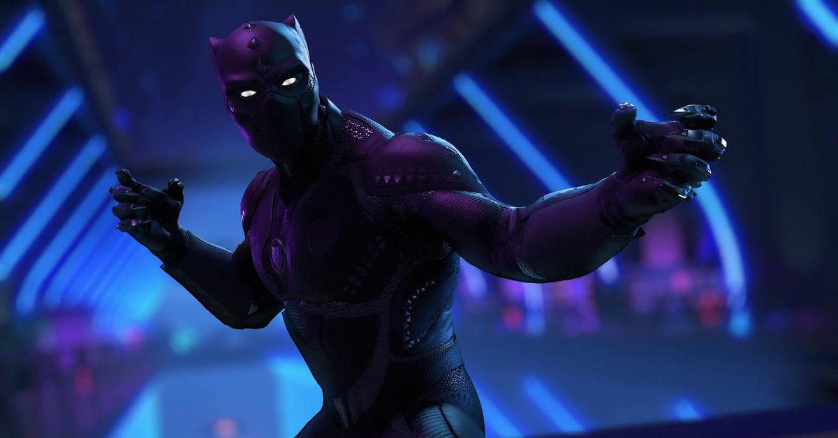 Black Panther battles in Marvel's Avengers' new trailer