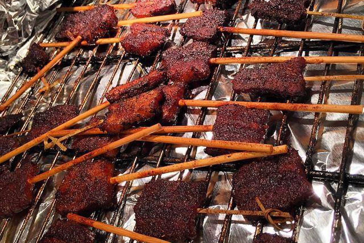 Bacon pops at Bethesda Barbecue Company.