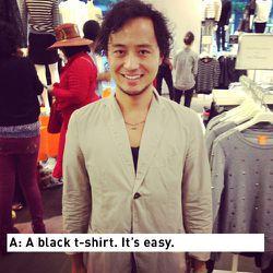Mitsu Tsuchiya, Men's Market Editor for Nylon