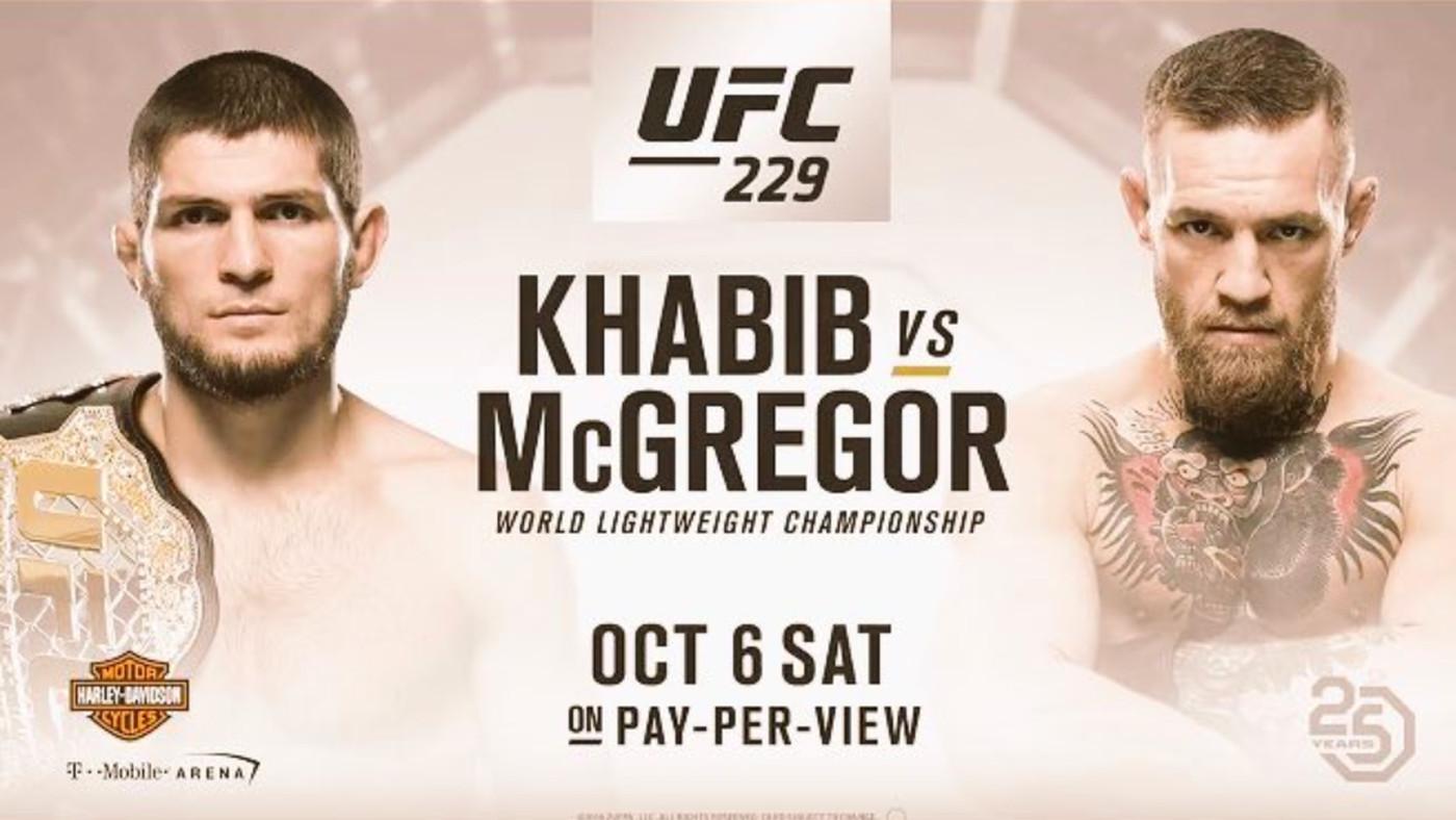 MMA撚] UFC 229: Khabib vs McGregor 直播links | LIHKG 討論區