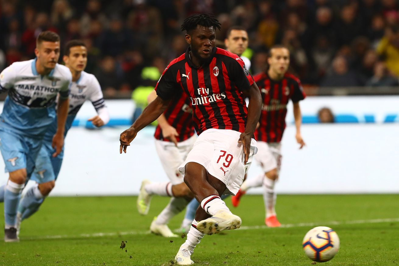 Tactical Review of AC Milan?s Vital 1-0 Win Over Lazio at the San Siro