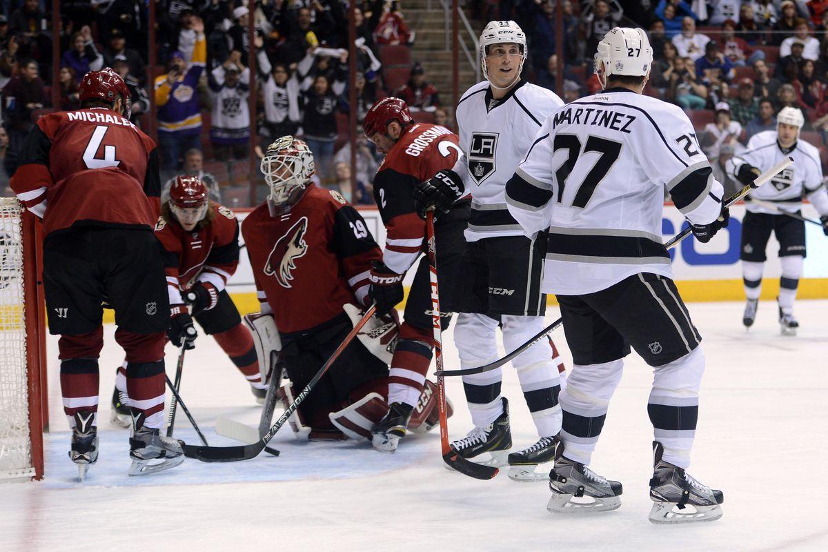 NHL: Los Angeles Kings at Arizona Coyotes