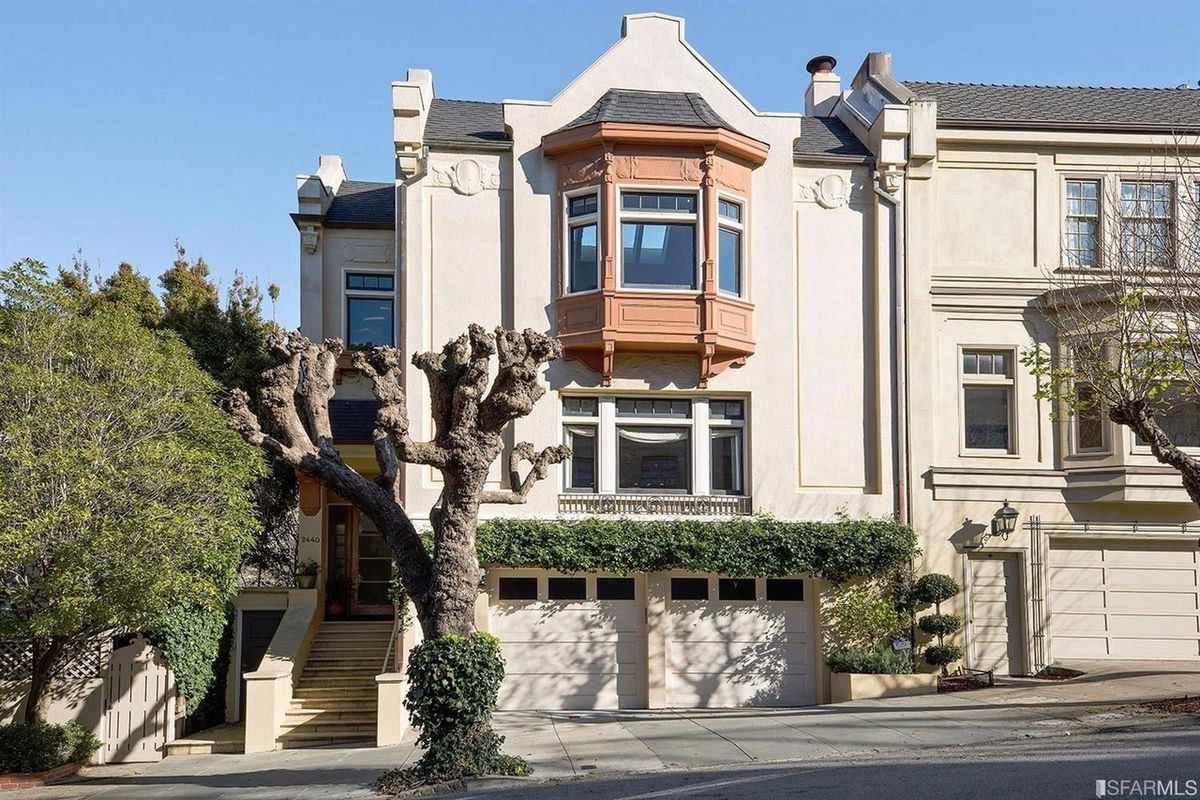 Pacific Heights Home Hides A Surprise Behind Stately