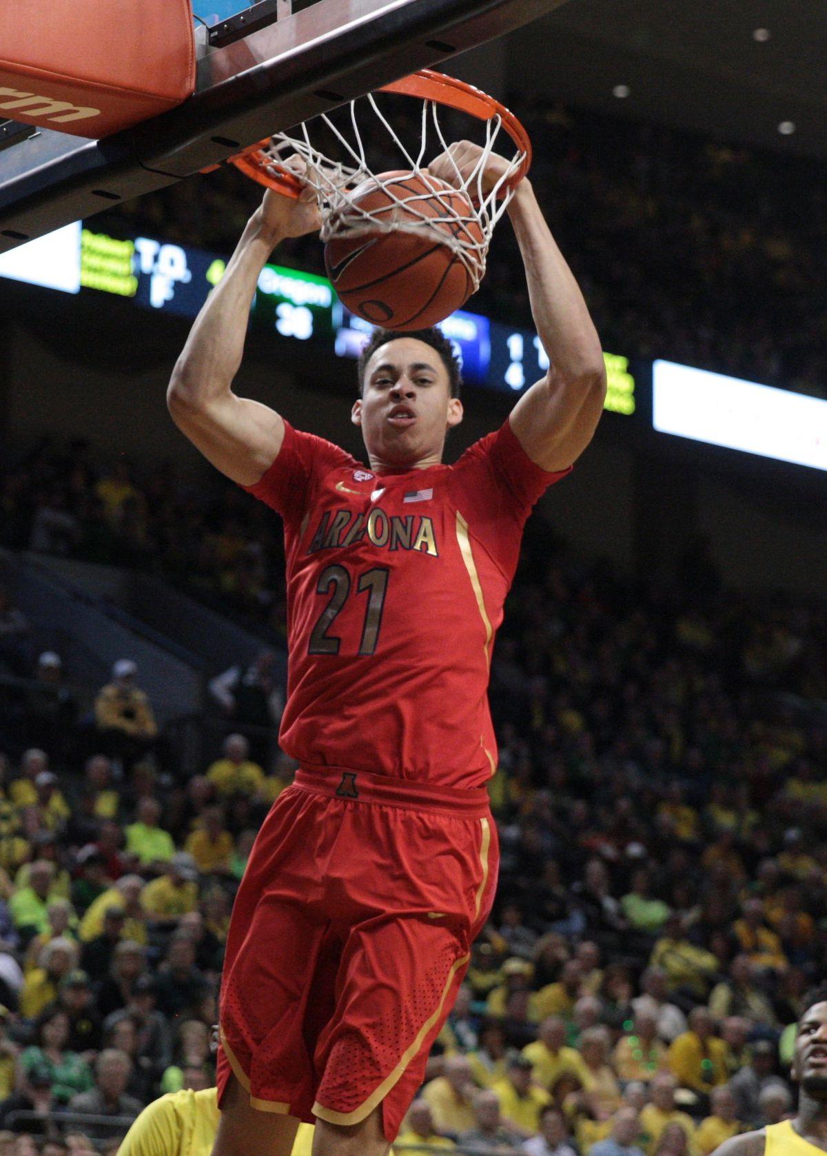 NCAA Basketball: Arizona at Oregon
