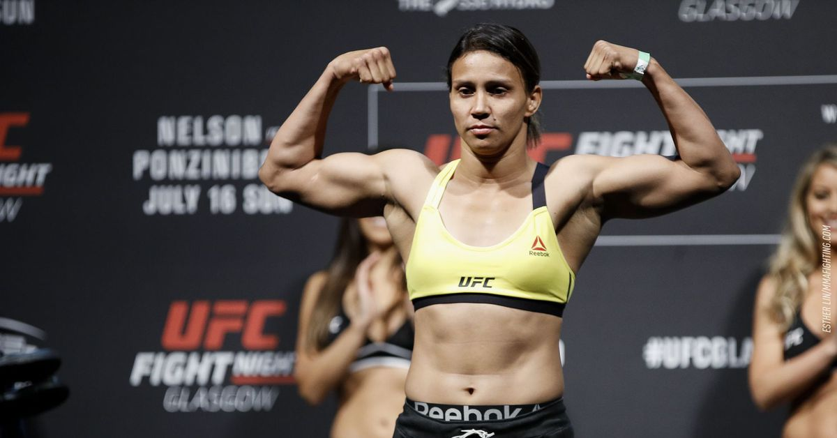How an unexpected call from the UFC un-retired Amanda Lemos