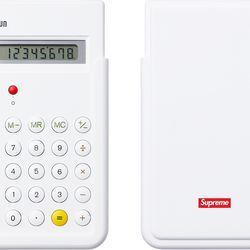 Supreme x Braun ET66 Calculator; Fall/Winter 2015