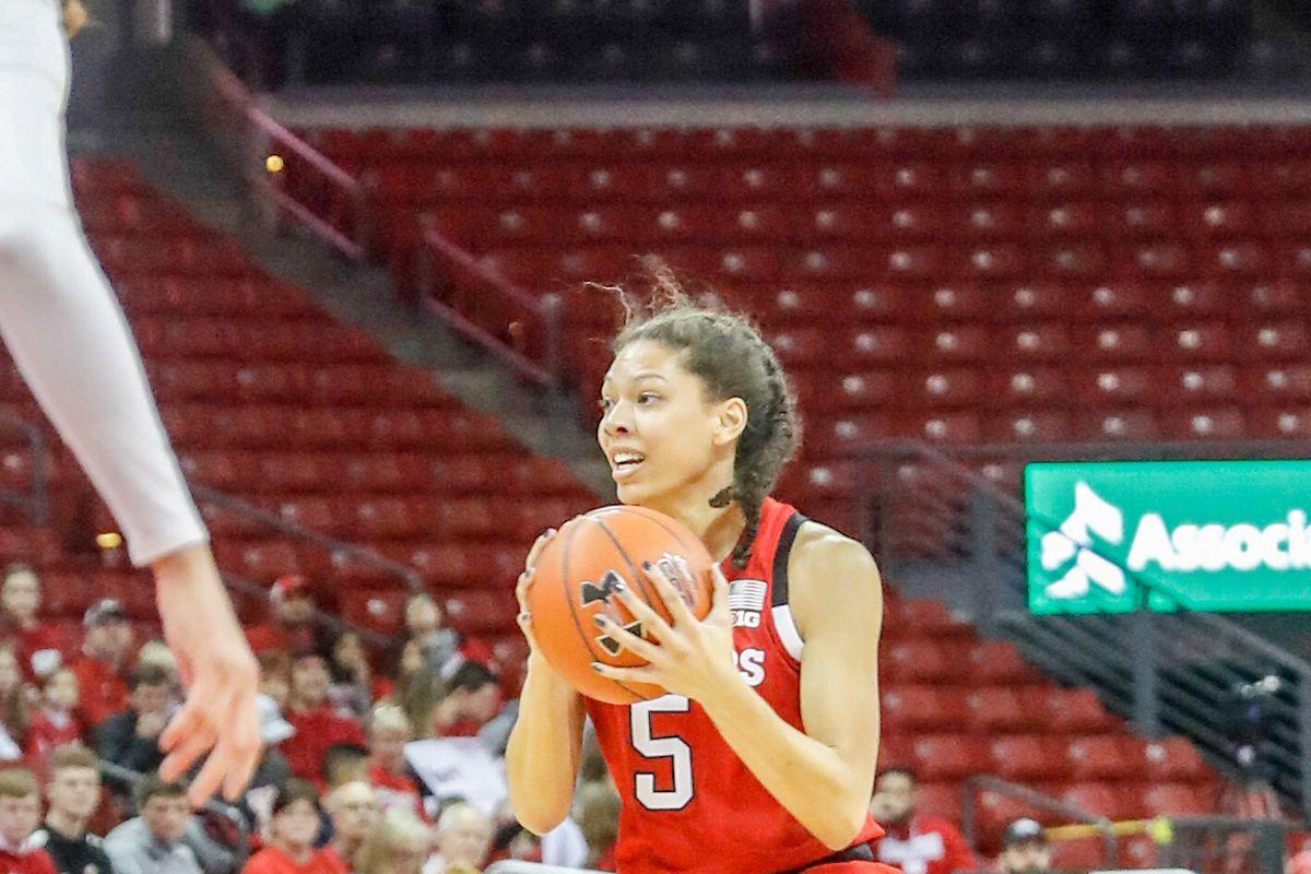 COLLEGE BASKETBALL: JAN 25 Women's Nebraska at Wisconsin