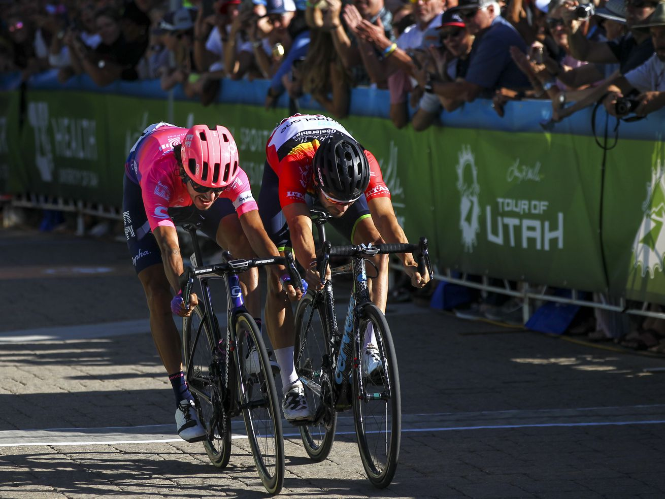 Tour of Utah: Lachlan Morton conquers Canyons Village at Park City Mountain stage