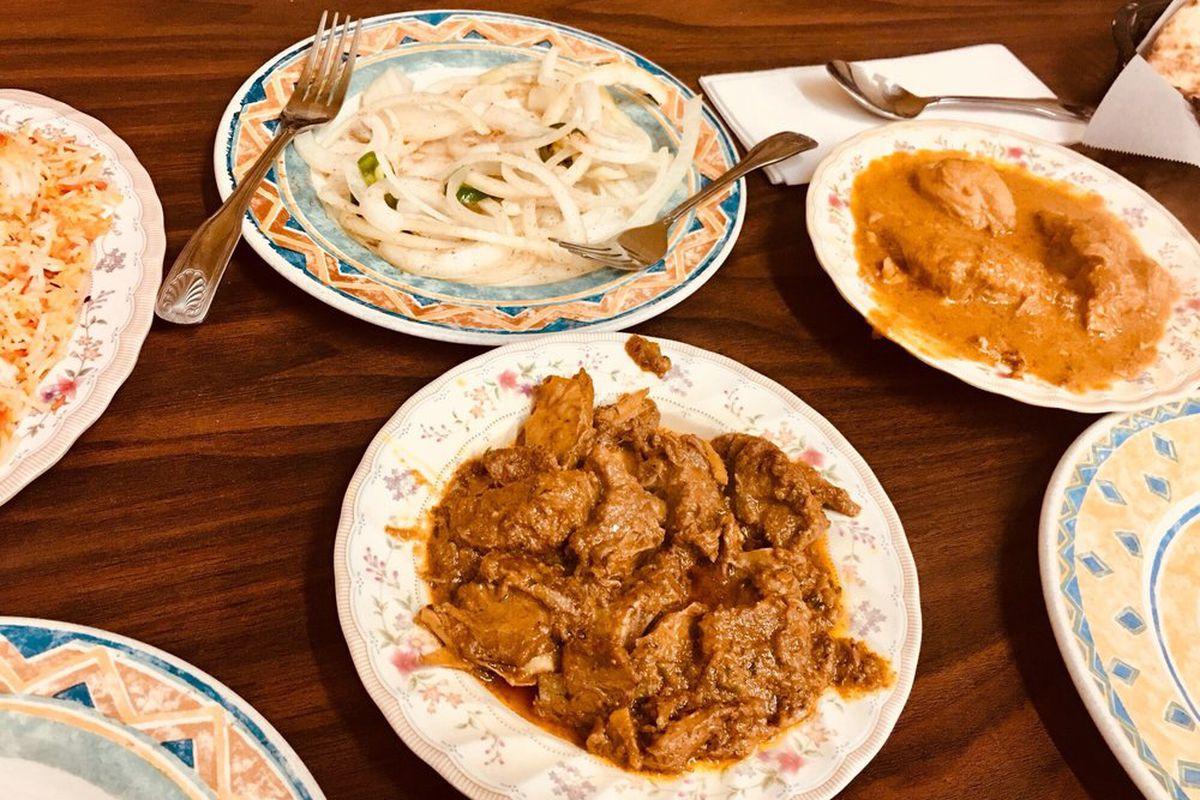Santa Con Partiers Trash Shalimar Pakistani Restaurant Eater Sf