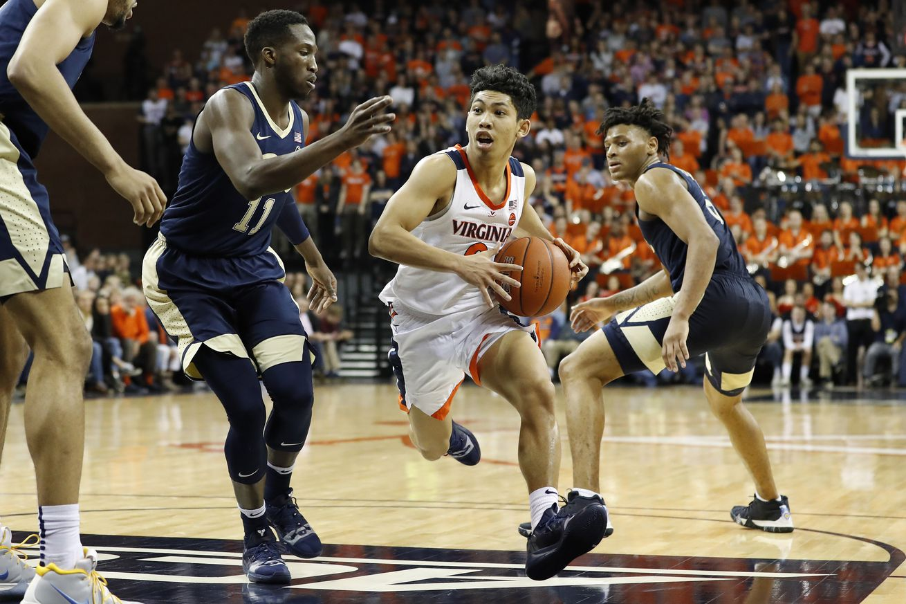 Virginia demolished Pitt on Saturday to remain No. 1 overall.