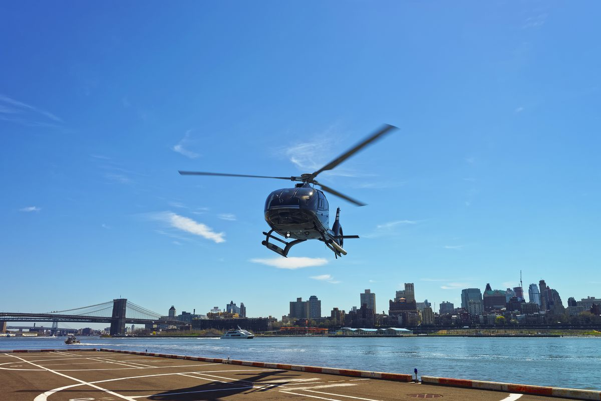 NYC sees an uptick in helicopter noise complaints - Curbed NY