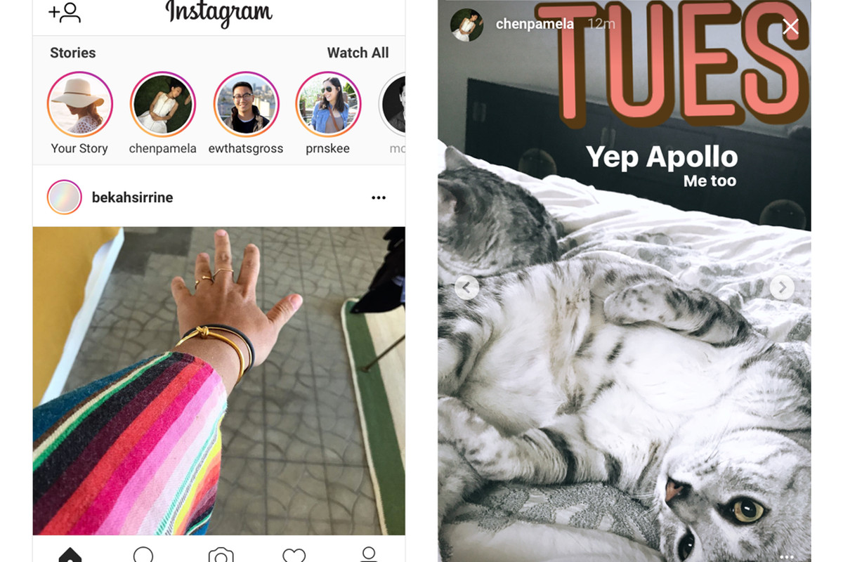 Instagram brings Stories to the mobile website