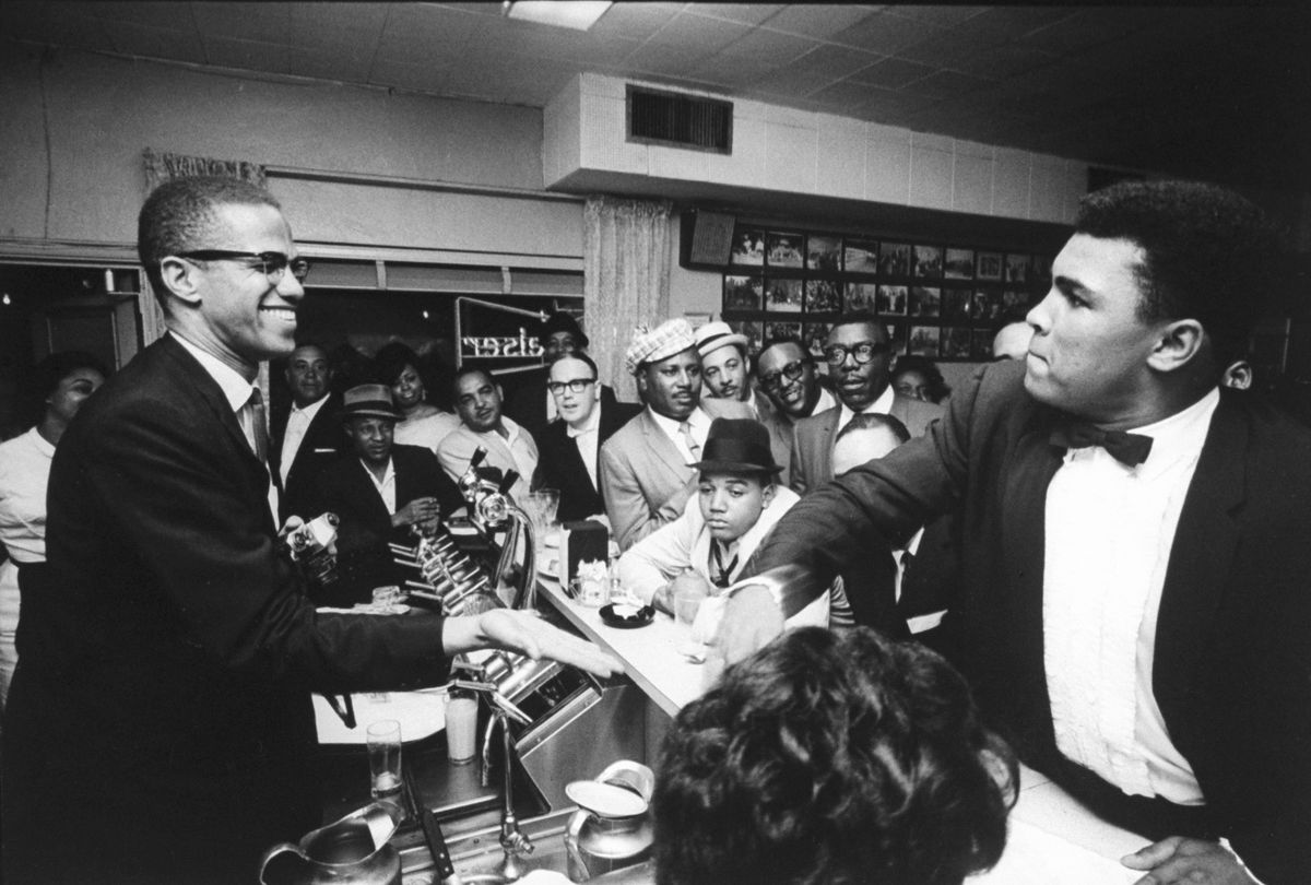 Cassius Clay And Malcolm X