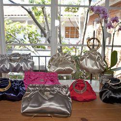 A few evening bags.