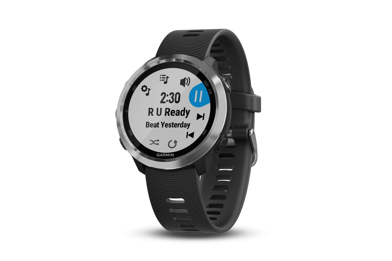 garmin s new forerunner 645 is the first garmin gps watch to store music