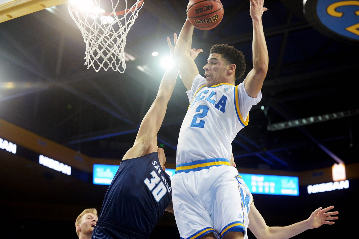 e065e0dfda3 UCLA's Lonzo Ball is putting on the greatest show in college basketball