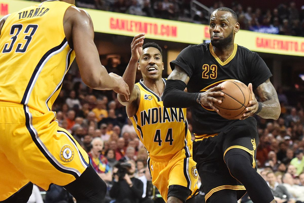 2017 nba playoffs: pacers vs. cavaliers round one schedule set