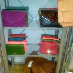 Small leather bags, $80