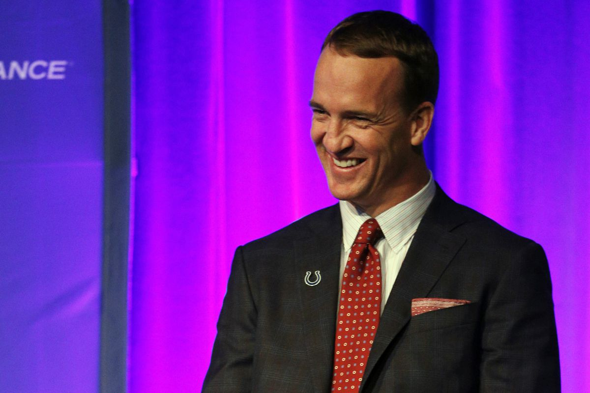 Peyton Manning, thinking about coming home to Knoxville, probably.