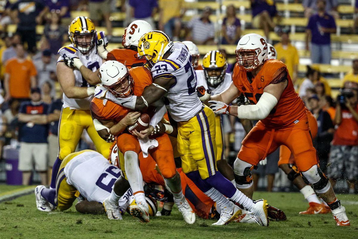 NCAA Football: Syracuse at Louisiana State