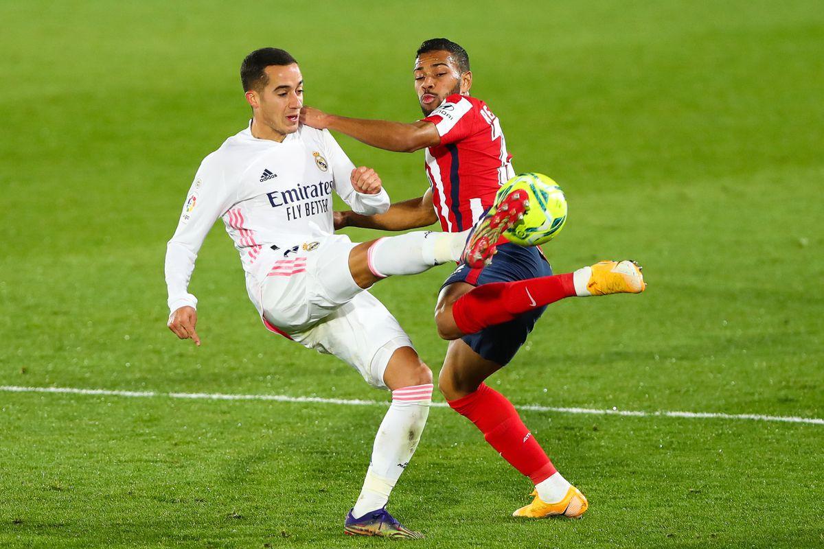 (SP)SPAIN-MADRID-FOOTBALL-SPANISH LEAGUE-REAL MADRID VS ATLETICO