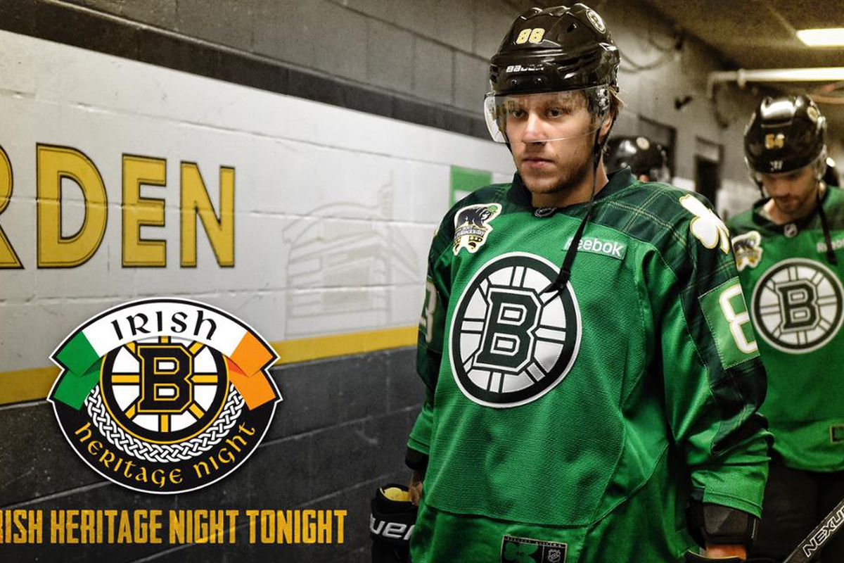 brand new 7040d 8927c It's Irish Heritage Night at TD Garden - Stanley Cup of Chowder