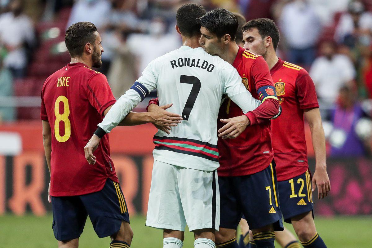 Spain v Portugal -International Friendly