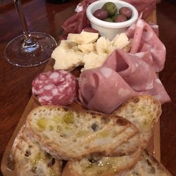 An antipasti plate at Tuscany Restaurant in Little Italy. | Ji Suk Yi/ Sun-Times