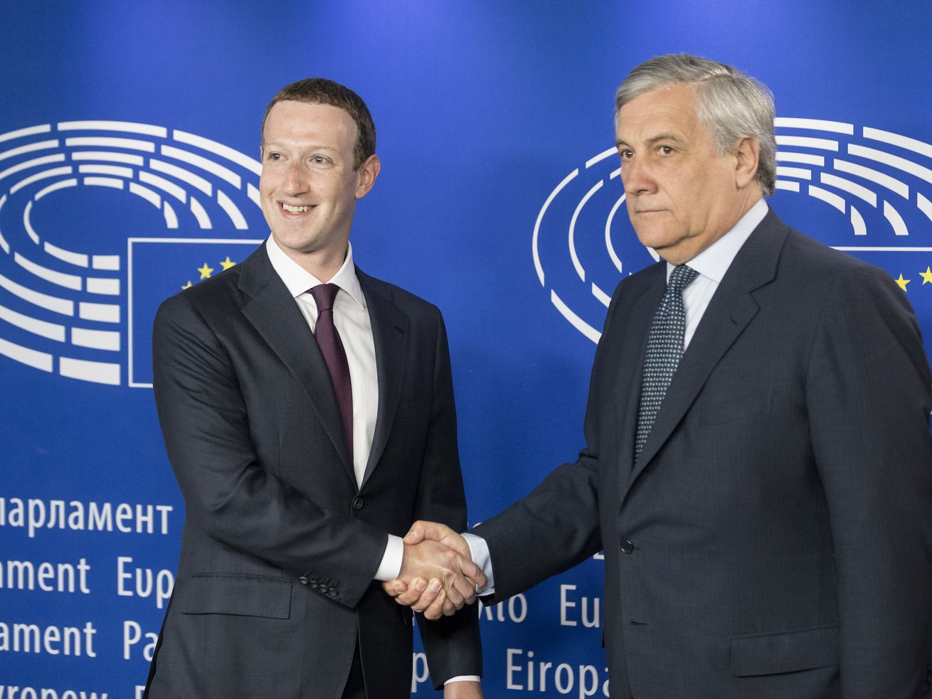 Mark Zuckerberg faced a bunch of tough questions in Europe today. He didn't really answer any of them.