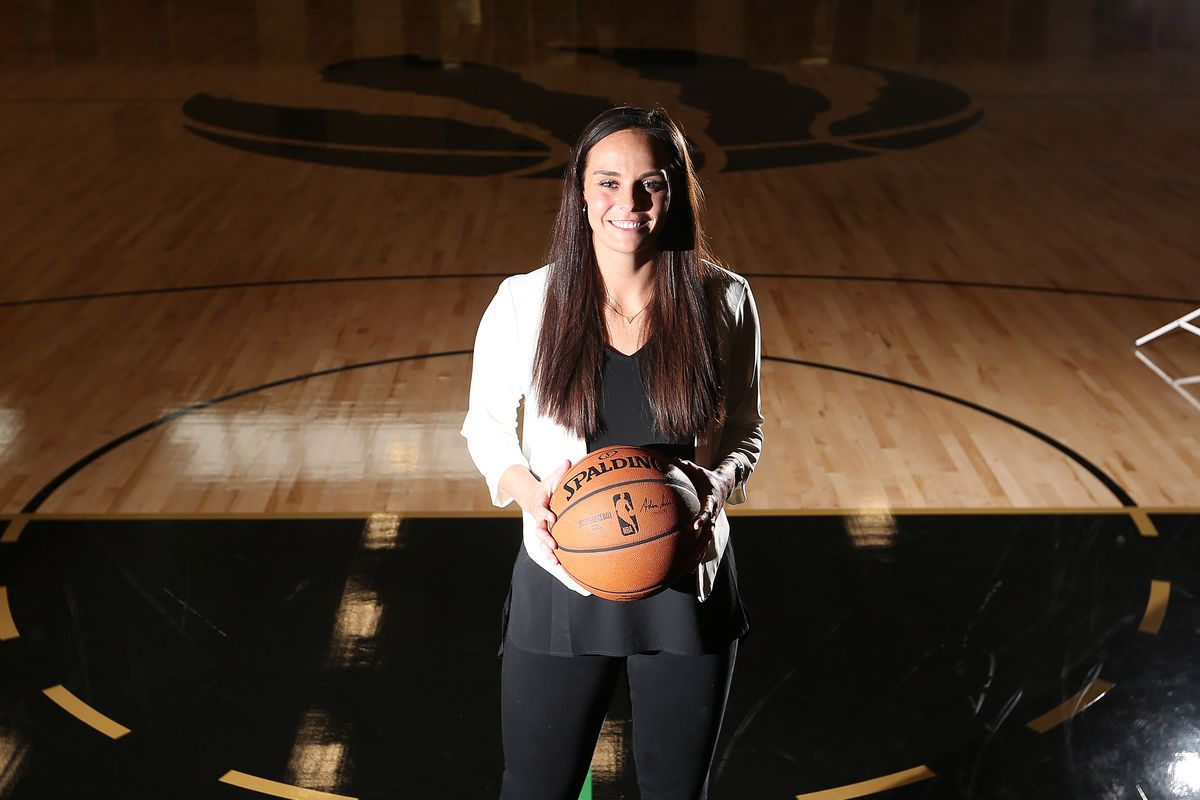 Brittni Donaldson, who worked in the Raptors' video room and in analytics is being promoted to an assistant coach role with club