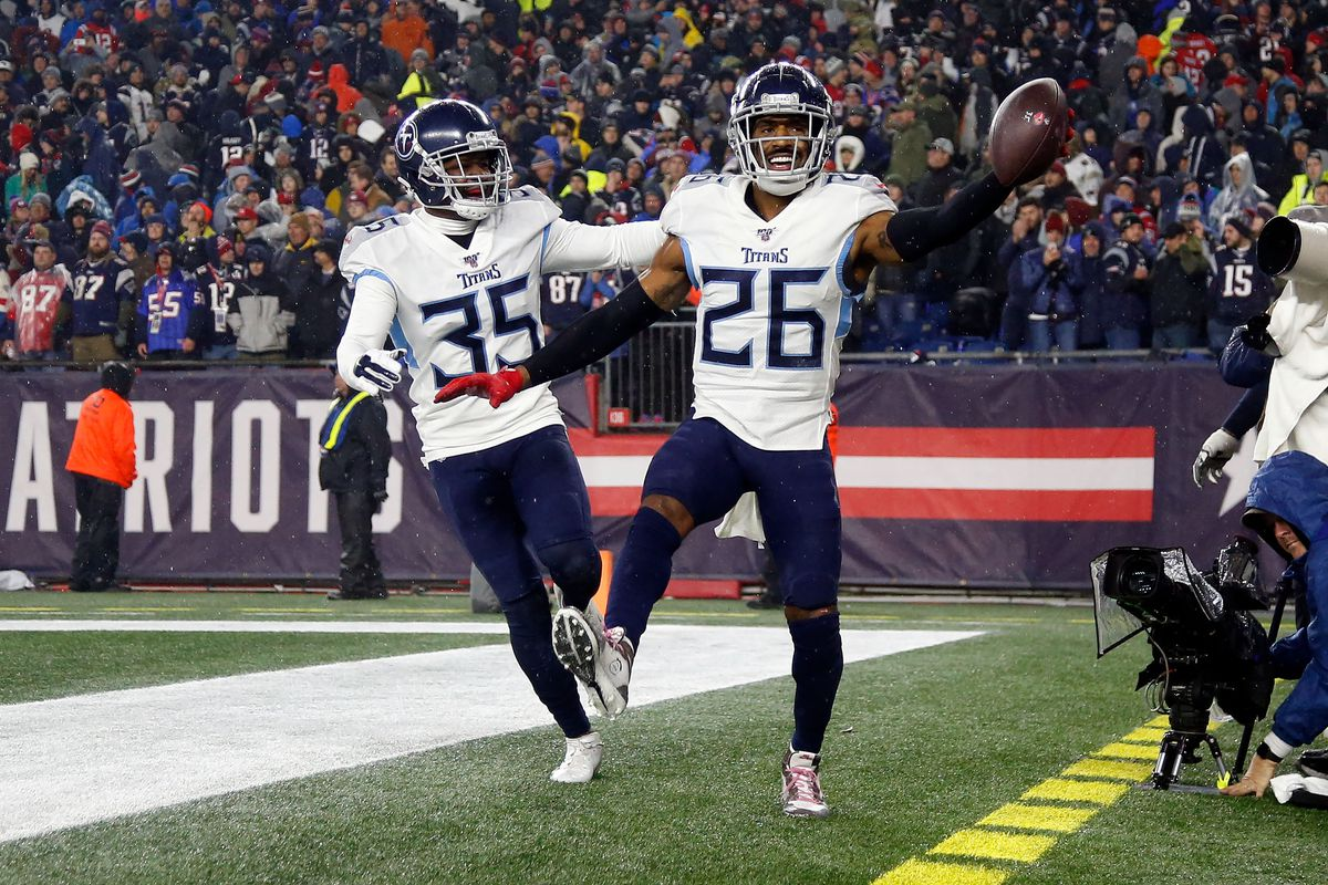 NFL: AFC Wild Card-Tennessee Titans at New England Patriots