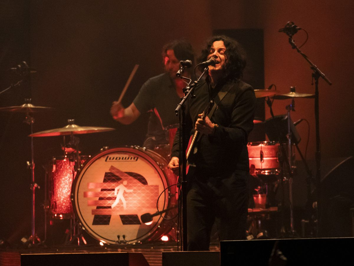 Jack White, of The Raconteurs, performs on day three of Riot Fest in Douglas Park, Sunday evening, Sept. 15, 2019.