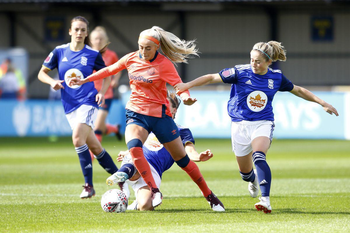 Birmingham City v Everton - Barclays FA Women's Super League