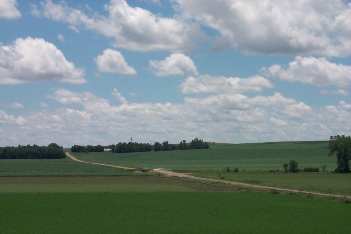 landscape scene of dixon county nebraska