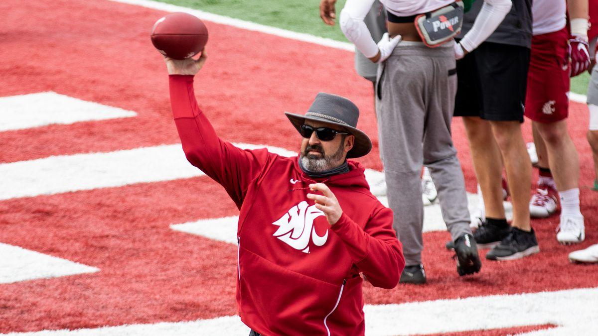 Washington State University Football Spring Practice 3 - Head Coach Nick Rolovich
