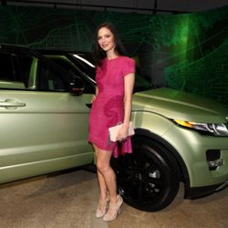 NEW YORK, NY - APRIL 19:  Designer and Co-Founder of Marchesa and NY City Shaper, Georgina Chapman was on hand at the NYC launch of the 2012 Range Rover Evoque at Highline Stages on April 19, 2011 in New York City.  (Photo by Neilson Barnard/Getty Images