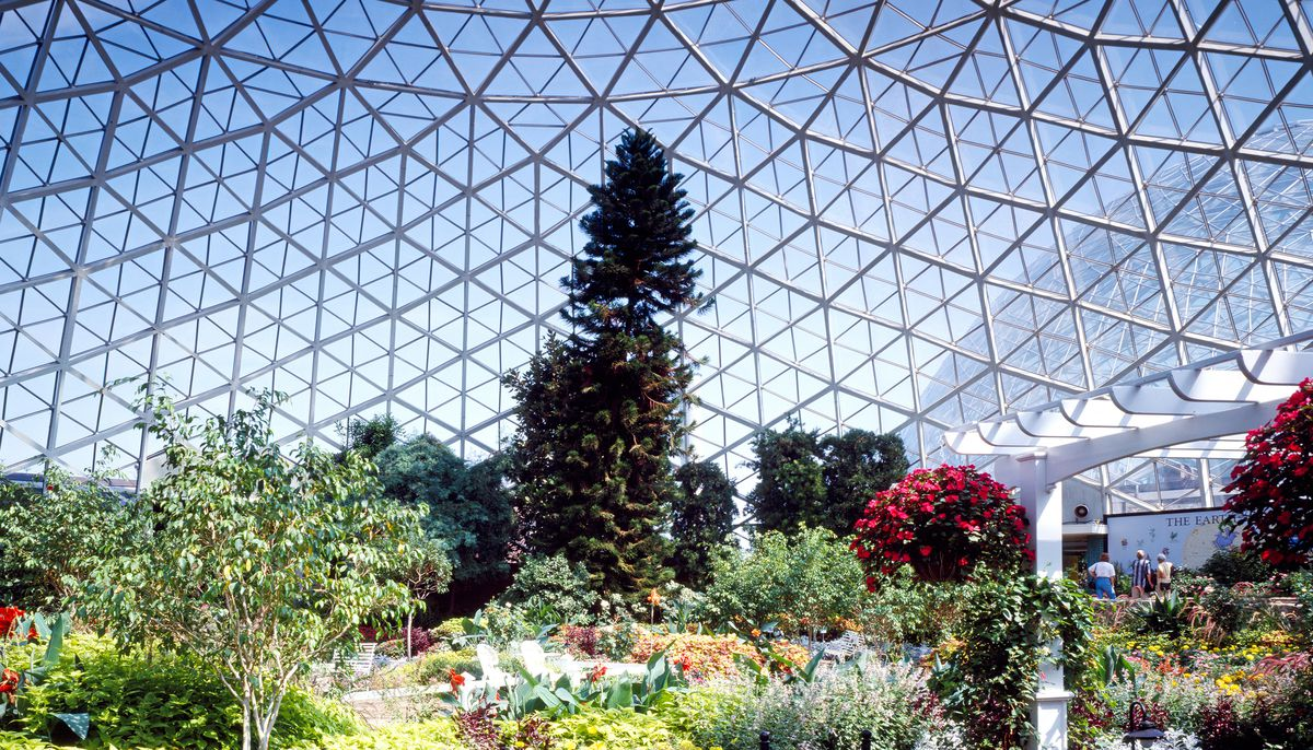 Mitchell Park Domes in Milwaukee