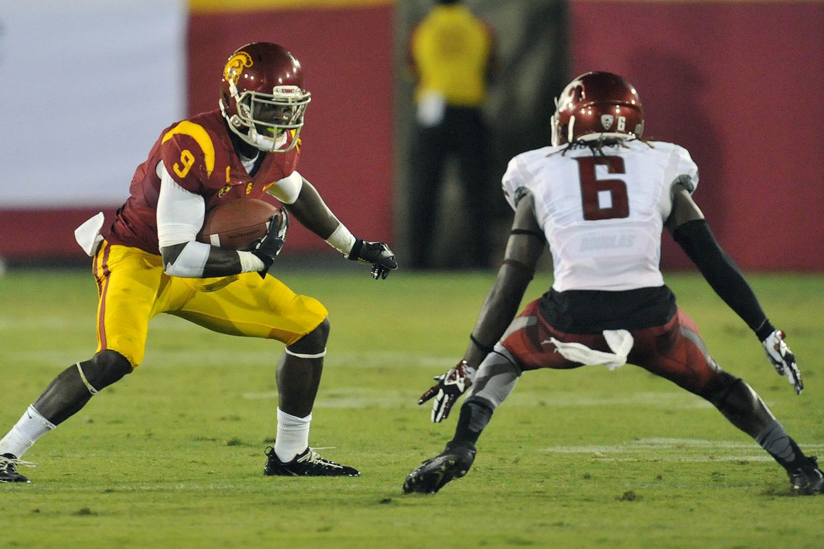 USC's receivers found little room to roam.