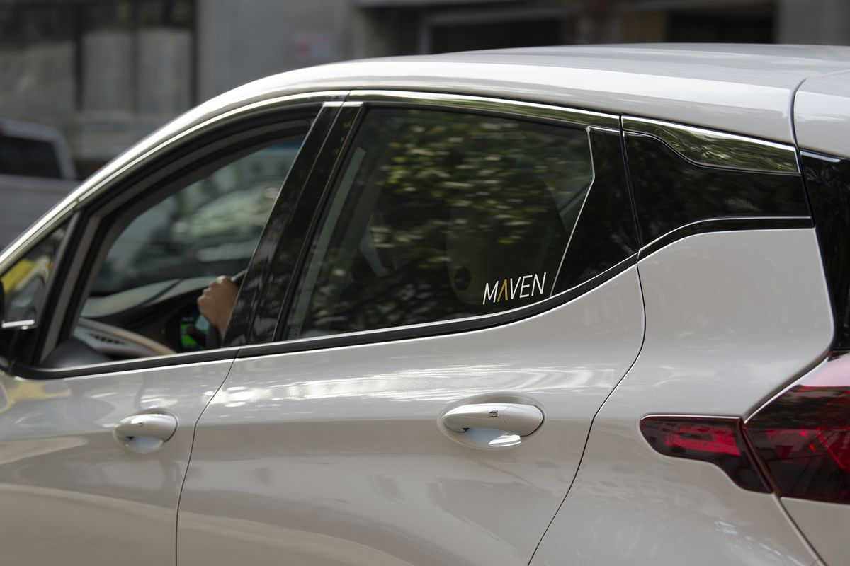 Maven Gig, GM's car-sharing service for Uber and Lyft