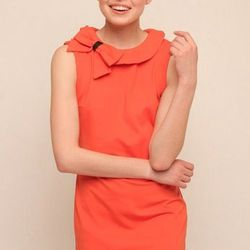 """Side bow dress from Baci, <a href=""""http://www.shoptiques.com/products/side-bow-dress"""">$240</a>."""