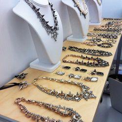 Joomi Lim's formal-meets-fierce necklaces.