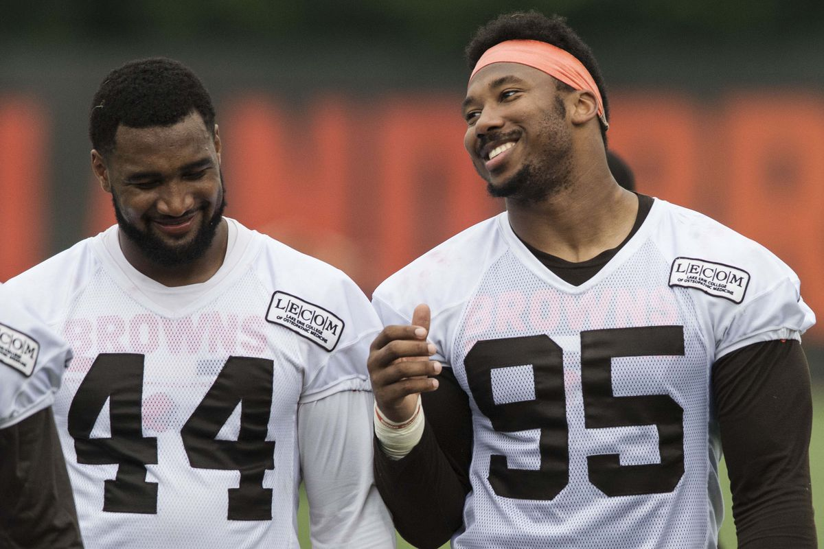 839f7453a863 Browns DE Myles Garrett takes firm stance on Kevin Durant joining the  Warriors