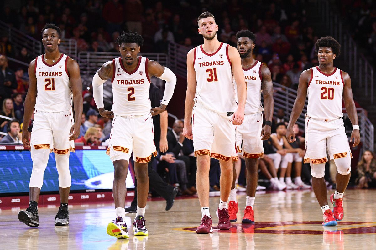 COLLEGE BASKETBALL: JAN 18 Stanford at USC