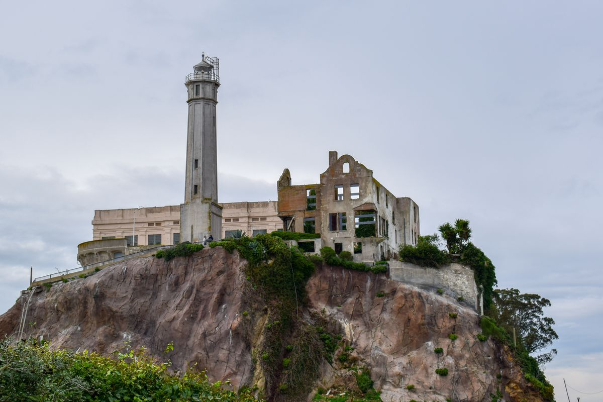 Civil War-era buildings discovered under Alcatraz prison